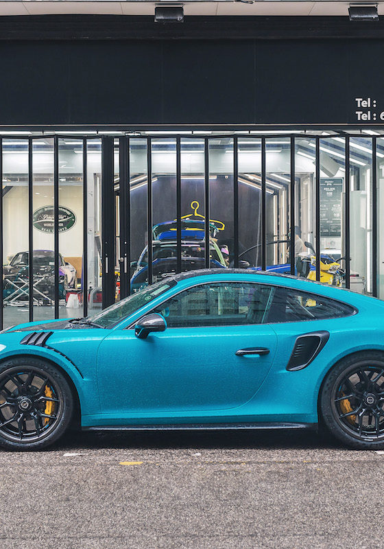 Dymag Carbon Wheels | Brixton 911 GT3RS