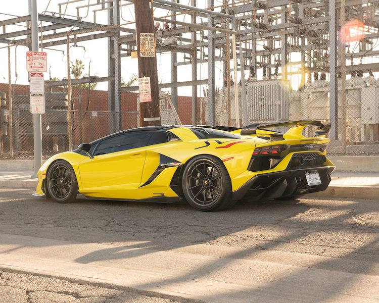 Dymag Carbon Wheels | Lamborghini Aventador SVJ