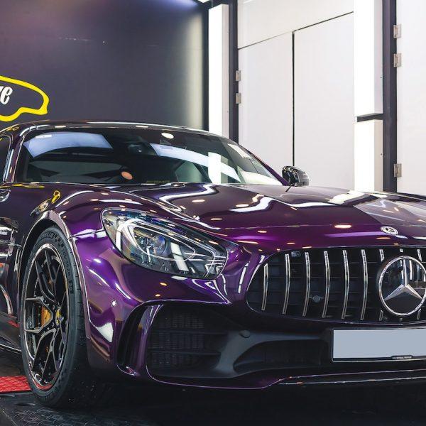 Dymag Carbon Wheels | Brixton Purple AMG GTR