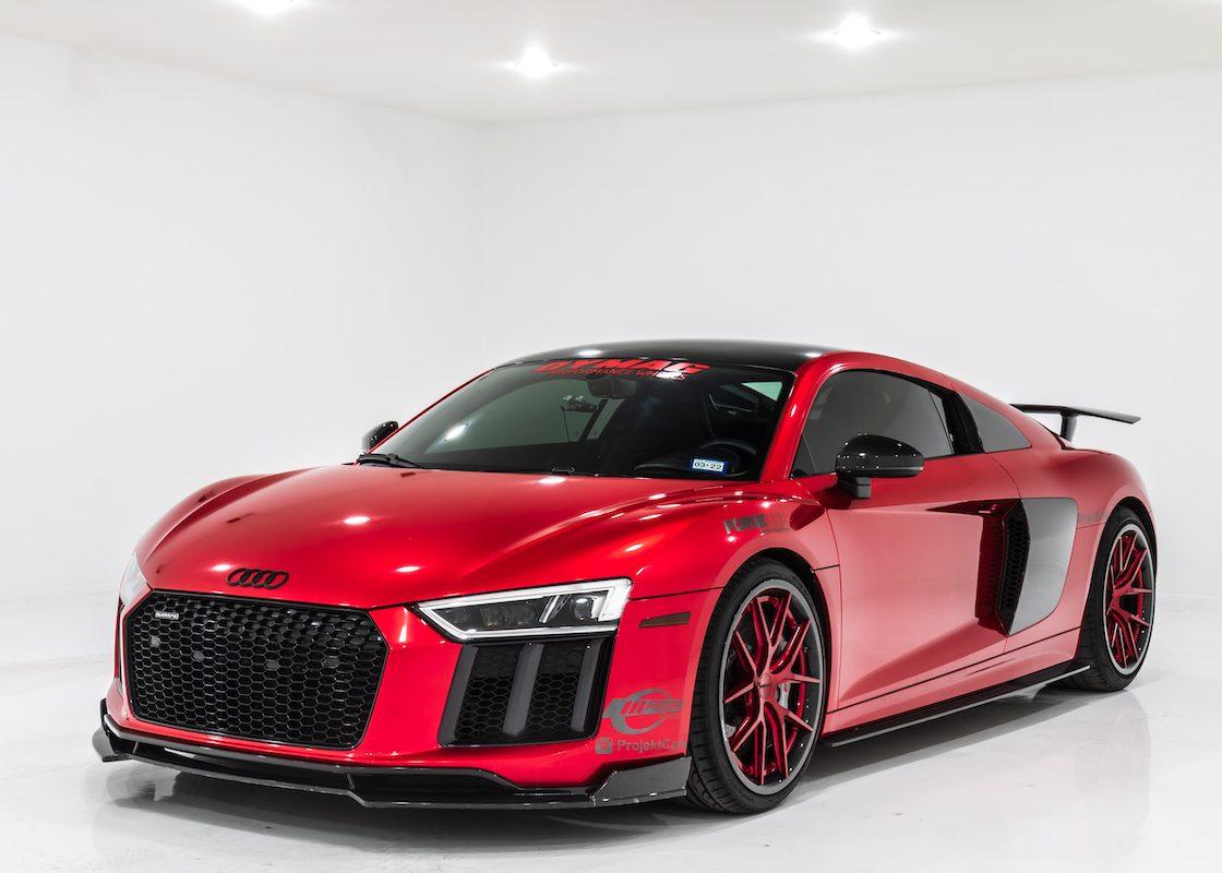 Dymag Carbon Wheels | Forgeline Audi R8